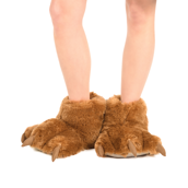 Brown Bear Giant Paw Slipper