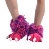Pink Monster Paw Slipper
