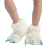 White Yeti Paw Slipper