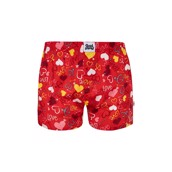 Good Mood Mens Loose Boxers - HEARTS