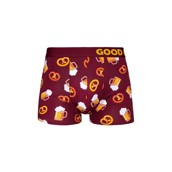 Good Mood Mens Fitted Trunks - BEER
