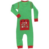 Dont Open Christmas Flapjack Onesie, Baby