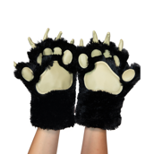 Black Bear Paw Mitts