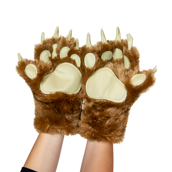 Brown Bear Paw Mitts