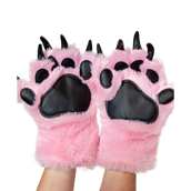 Pink Paw Mitts