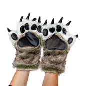 Wolf Paw Mitts