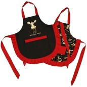 LazyOne Female Chocolate Moose Apron