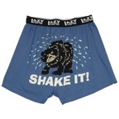 LazyOne Shake It Bear Mens Boxer Shorts