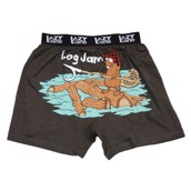 LazyOne Log Jam Mens Boxer Shorts