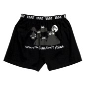 LazyOne Sun Dont Shine Critters Mens Boxer Shorts
