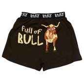 LazyOne Full of Bull Mens Boxer Shorts
