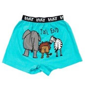 LazyOne Tail End Zoo Mens Boxer Shorts