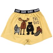 LazyOne Tail End Critters Mens Boxer Shorts