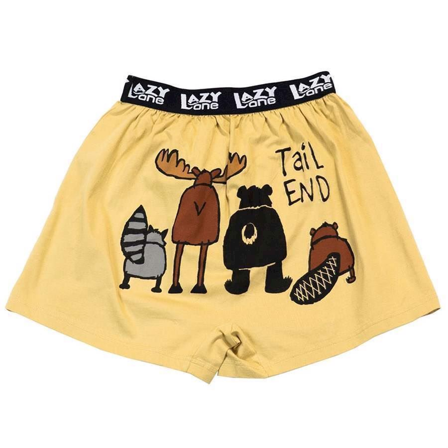 Tail End Critters Boxer Shorts, Child Small