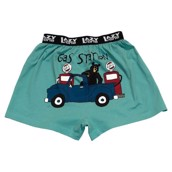 LazyOne Gas Station Mens Boxer Shorts