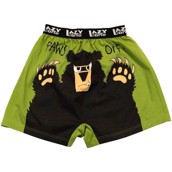 LazyOne Paws Off Mens Boxer Shorts