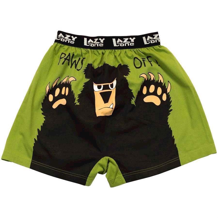 Billede af LazyOne, Paws Off Boxer Shorts, Adult XL