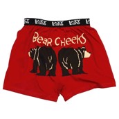 LazyOne Bear Cheeks Mens Boxer Shorts