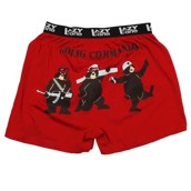 LazyOne Going Commando Mens Boxer Shorts