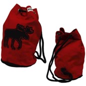 LazyOne Classic Moose Red Tote Bag
