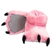 LazyOne Pink Bear Paw Slipper