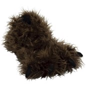 LazyOne Unisex Big Foot Paw Slipper