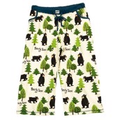 LazyOne Womens Bearly Tame Capri PJ Trousers