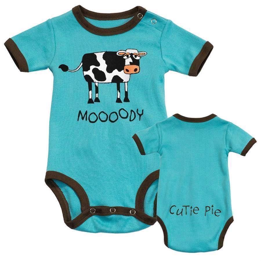 Mooody Boys Creeper, Baby 18 Months