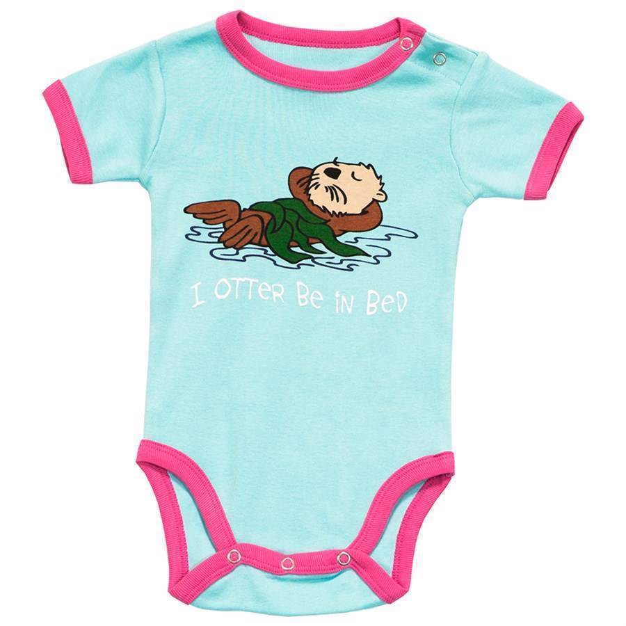 I Otter Be in Bed Creeper, Baby 6 Months