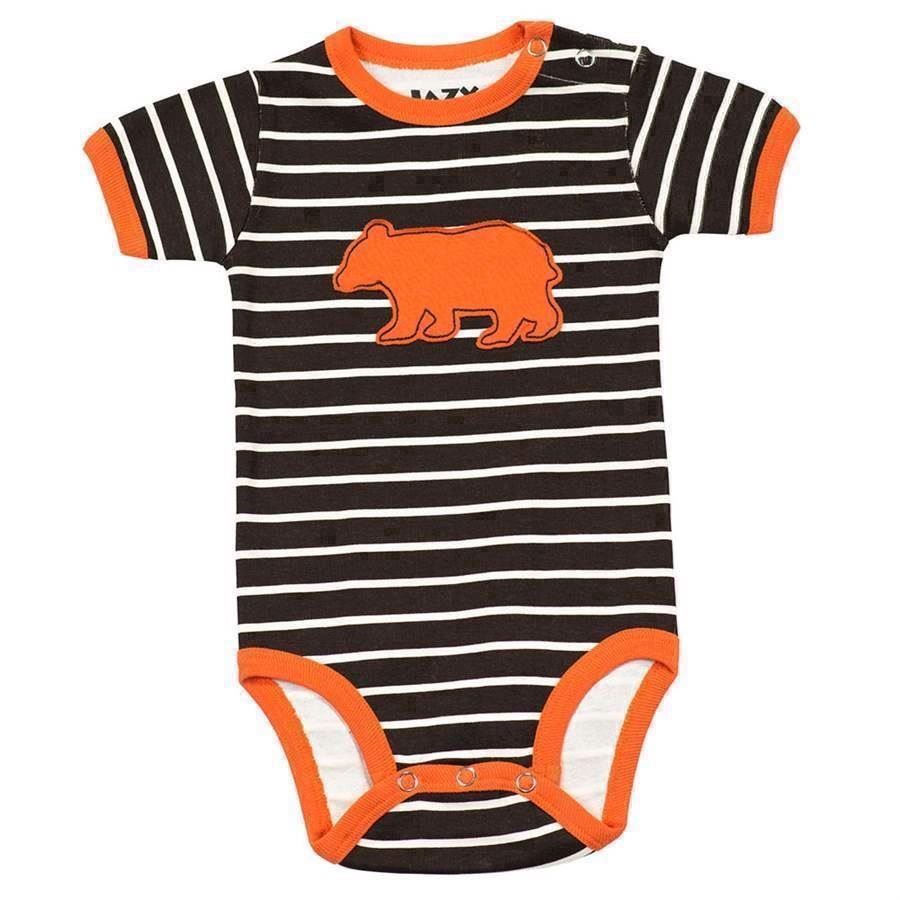 Bear Stripe Boys Creeper, Baby 18 Months