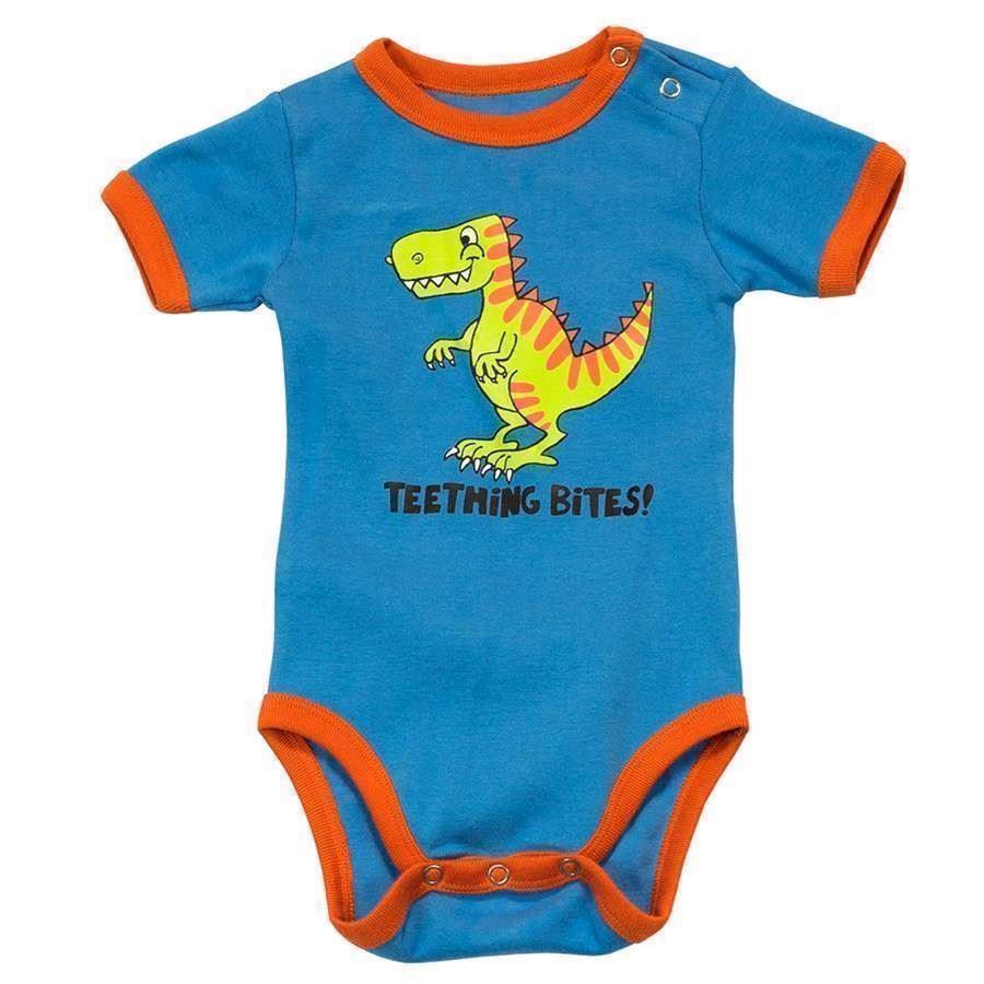 Teething Bites Dinosaur Boys Creeper, Baby 18 Months