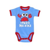 LazyOne Unisex A Pinch to Grow Babygrow Vest