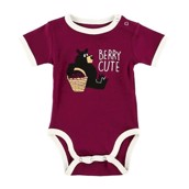 LazyOne Huckle Berry Babygrow Vest