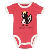 LazyOne Girls Little Stinker Babygrow Vest