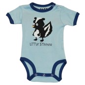 LazyOne Boys Little Stinker Babygrow Vest