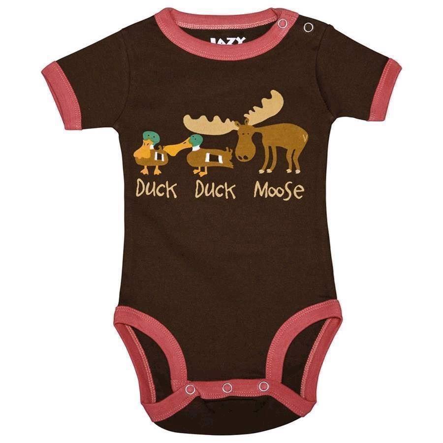 Billede af LazyOne, Duck Duck Moose Girls Creeper, Baby 12 Months