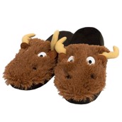 LazyOne Unisex Moose Critter Slippers