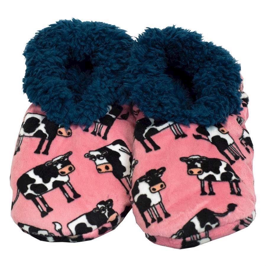 Mooody Fuzzy Feet Slippers, Adult Small/Medium