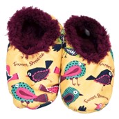 LazyOne Tweet Dreams Fuzzy Feet Slippers