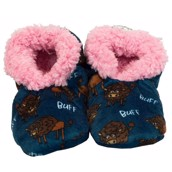LazyOne Buffs Fuzzy Feet Slippers