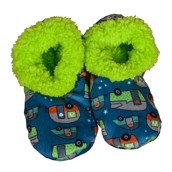LazyOne Unisex Night Out Fuzzy Feet Slippers