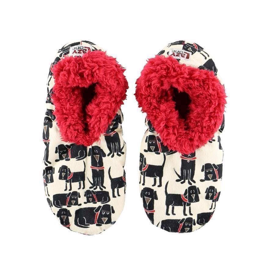 Ruff Night Fuzzy Feet Slippers, Adult