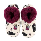 LazyOne Huckle Berry Fuzzy Feet Slippers