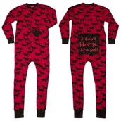 LazyOne Unisex I Dont Horse Around Flapjack Onesie