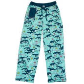 LazyOne Womens No Wake Zone Dolphin PJ Trousers