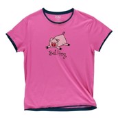 LazyOne Womens Bed Hog PJ TShirt