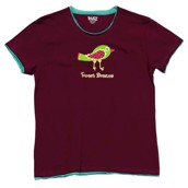 LazyOne Womens Tweet Dreams PJ TShirt