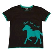LazyOne Womens Hot to Trot PJ T Shirt