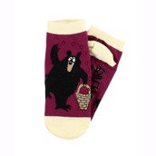 LazyOne Unisex Huckle Berry  Adult Slipper Socks