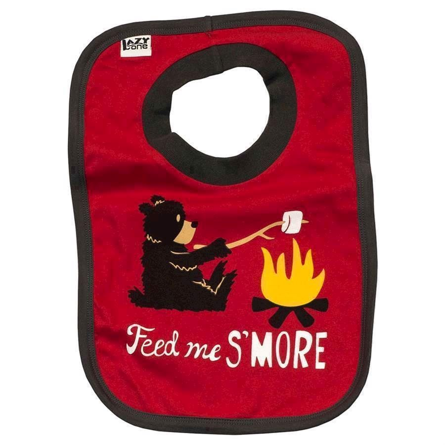 Feed Me S´More Baby Bib